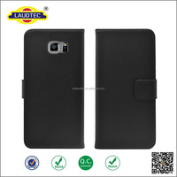 Second-Layer Genuine Leather Flip Wallet Case for Samsung Galaxy Note 5 with stand Function