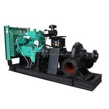 horizontal single stage diesel engine agriculture irrigation water pump set