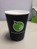 wholesale customized logo printed paper cups in cheap price