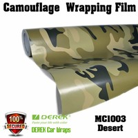 Factory Price Camouflage Car Wrapping Foil