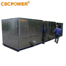 10000kg/day ice cube machine with automatic packing system from CSCPOWER