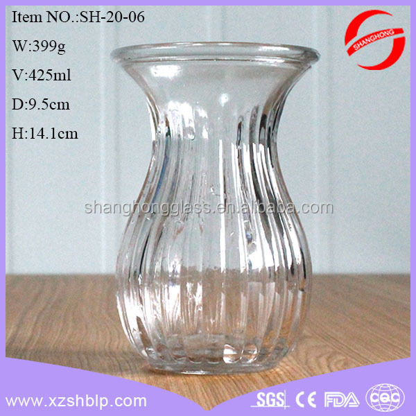 Wholesale Different Types Glass Vase Hyacinth Water Plant