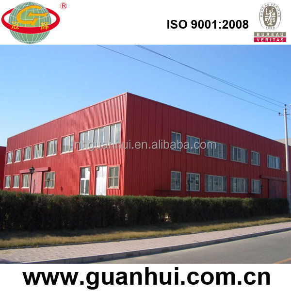 Safe Solid Steel Structure Shopping Center