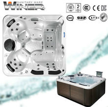 luxury massage bathtub cold spa hot tub