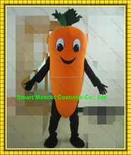 Good ventilation carrot vegetable mascot costume with clear visual adult carrot mascot costume