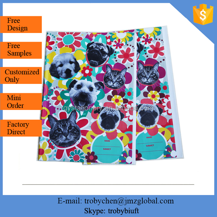 PVC school book cover, Document Cover
