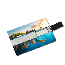 Super Slim OEM 3.0 Pen Drive 2.0 Credit Card Bussiness Card USB Case