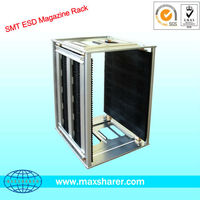 adjustable pcb rack /SMT magazine rack/ Antistatic rack esd shelf