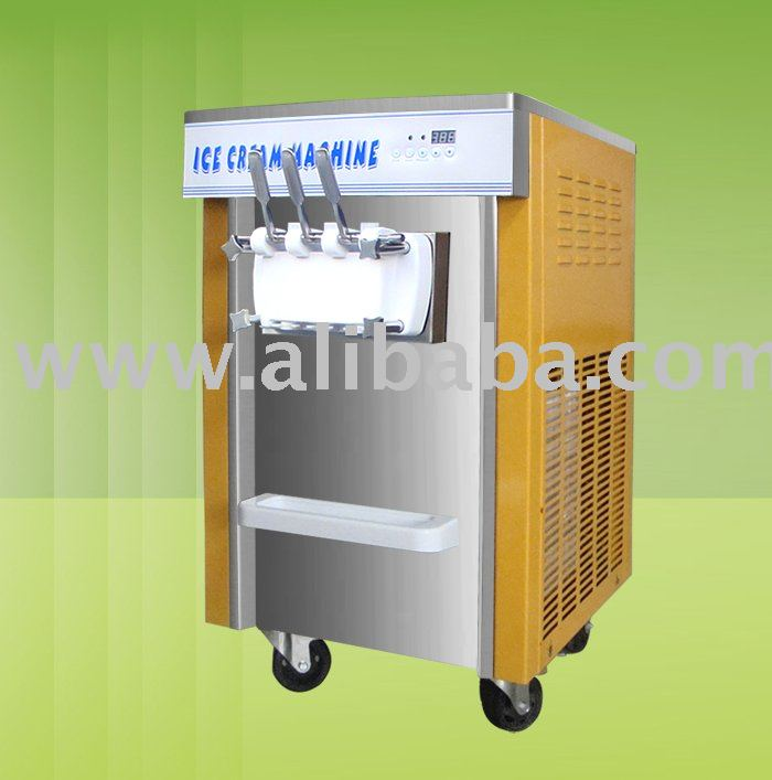 Soft Ice Cream and yogurt Machine New