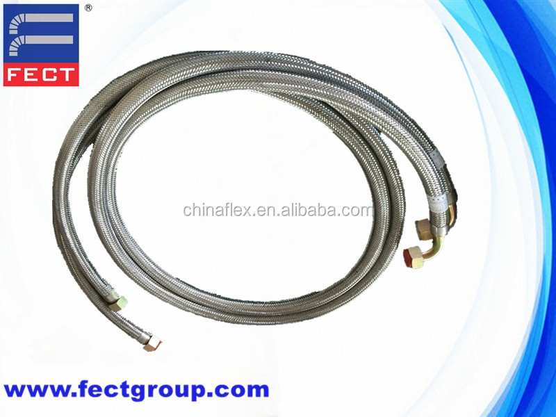 Steel Flexible Corrugated Gas Metal Hose With Welding Fittings