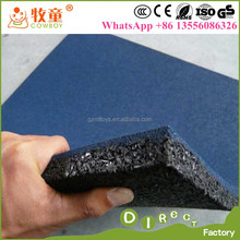 Outside Play Ground 25 MM Rubber Floor Mat for Kindergarten Outdoor playground flooring home depot