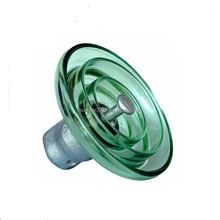 Toughened Suspension Glass disc Insulator U120 on power lines