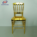 Factory wholesale high light gold resin castle chateau chair versailles chair