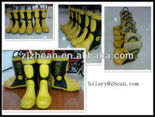 anti mine boots/black coal mining boots