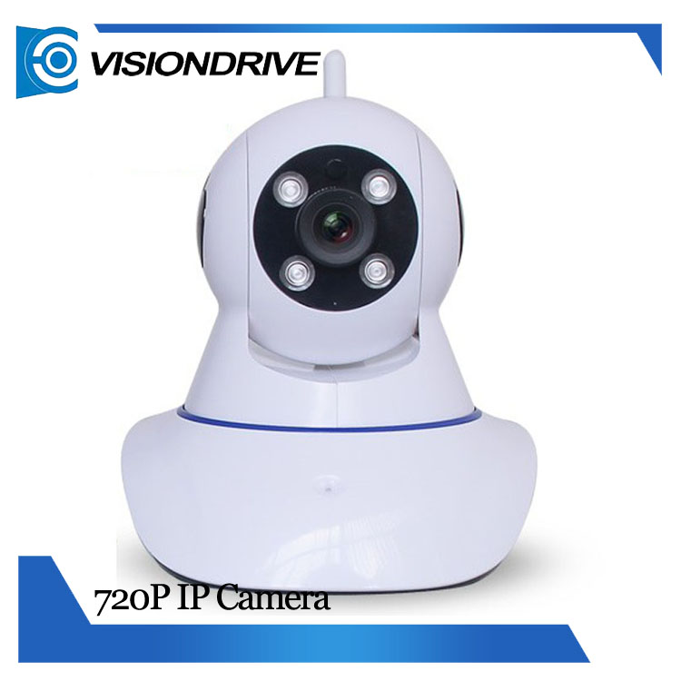 Z06A Wireless home alarm HD Pan Tilt IP Camera 720P Indoor Night Vision <strong>Security</strong> WIFI P2P Webcam