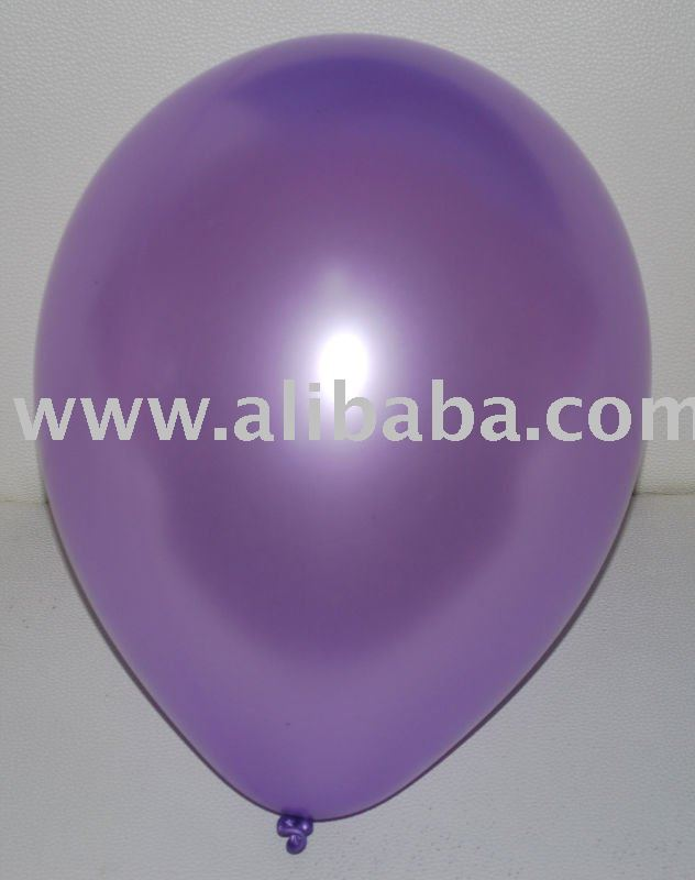 Phong Balloon, Excellent Quality Latex Round Balloon ( Metallic Tone )
