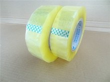 China manufacturer transparent bopp packing tape in jumbo rolls