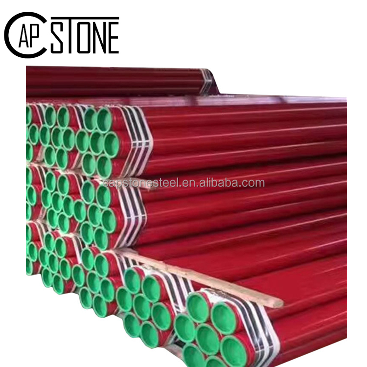 Erw carbon pipe rectangular/round steel pipe