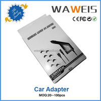 CE FCC ROHS approved 90w car battery charger,usb adapter for laptop