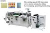 TXM-320 high quality Die-cutting Machine Type and Yes Computerized flat bed label die cutting Machine