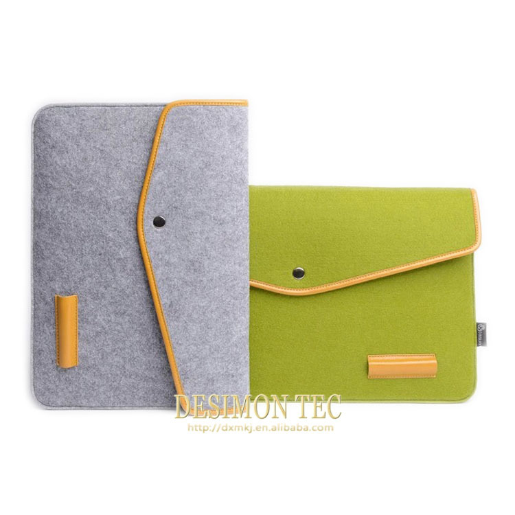 2015 hot new product china supplier felt tablet case for lenovo a5000 fashion case for women multifunction