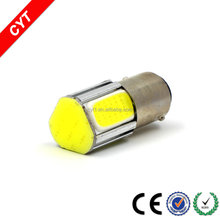High Quality 6W BA15D/1157 4SMD COB LED Car Brake light CYT tail light