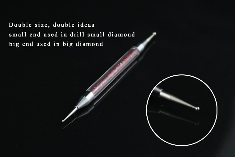 New Design Shave Engraving Crystal Dotting Tools Manicure Drawing Nail Art Painting Manicure Drill Pen Brush
