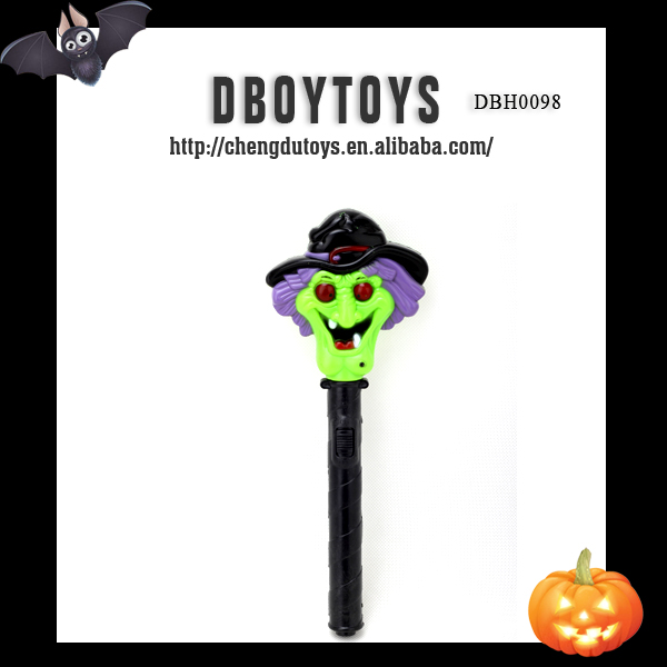 Halloween party toy flashing wholesale skeleton head bone decoration lighting for sale EN-71/6P