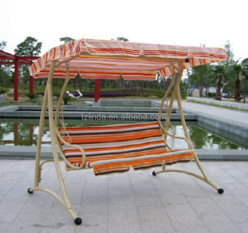 Outdoor adult patio hanging swing chair