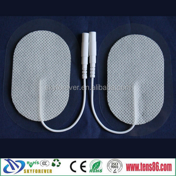 2015 high biocompatible hydrogel tens electrode pads