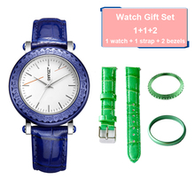 water resistant wholesale changeable watch belt women watch with myota movement 2017