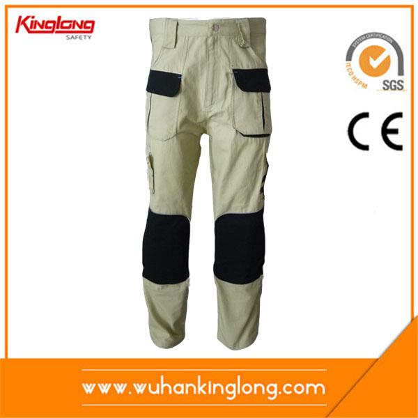2016 Mens Heavy Weight Twill Cotton Khaki Cargo Pants
