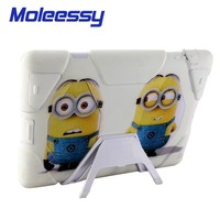 new style ,hot selling minion case For Ipad 234 ,catoon minion case tablet case For Ipad 234