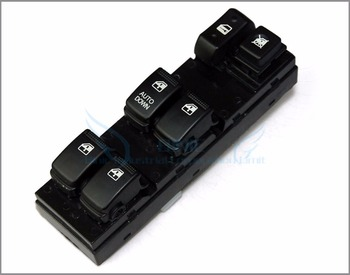 Power Window Master Control Switch For 04-10 Hyundai Tucson Front Left New