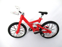 Customized plastic 9.5cm mini 3d bike model toy