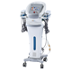 Multifunctional slimming machine with cavitation, vacuum, RF and laser handpiece.
