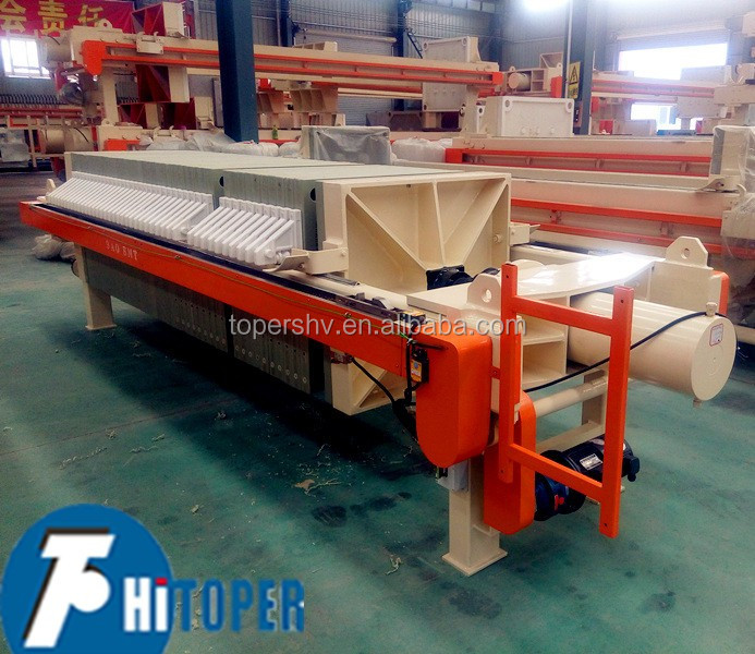 Membrane filter press for gold taillings separation with good price