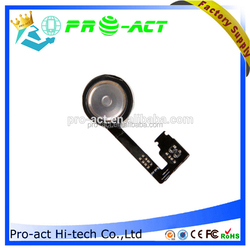 for iphone 4S home button flex cable brand new with adhesive fits any carrier 4S