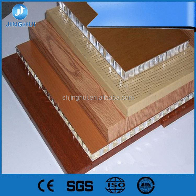 Building materials aluminium composite panel honeycomb paper core for door for coldroom/cleanroom