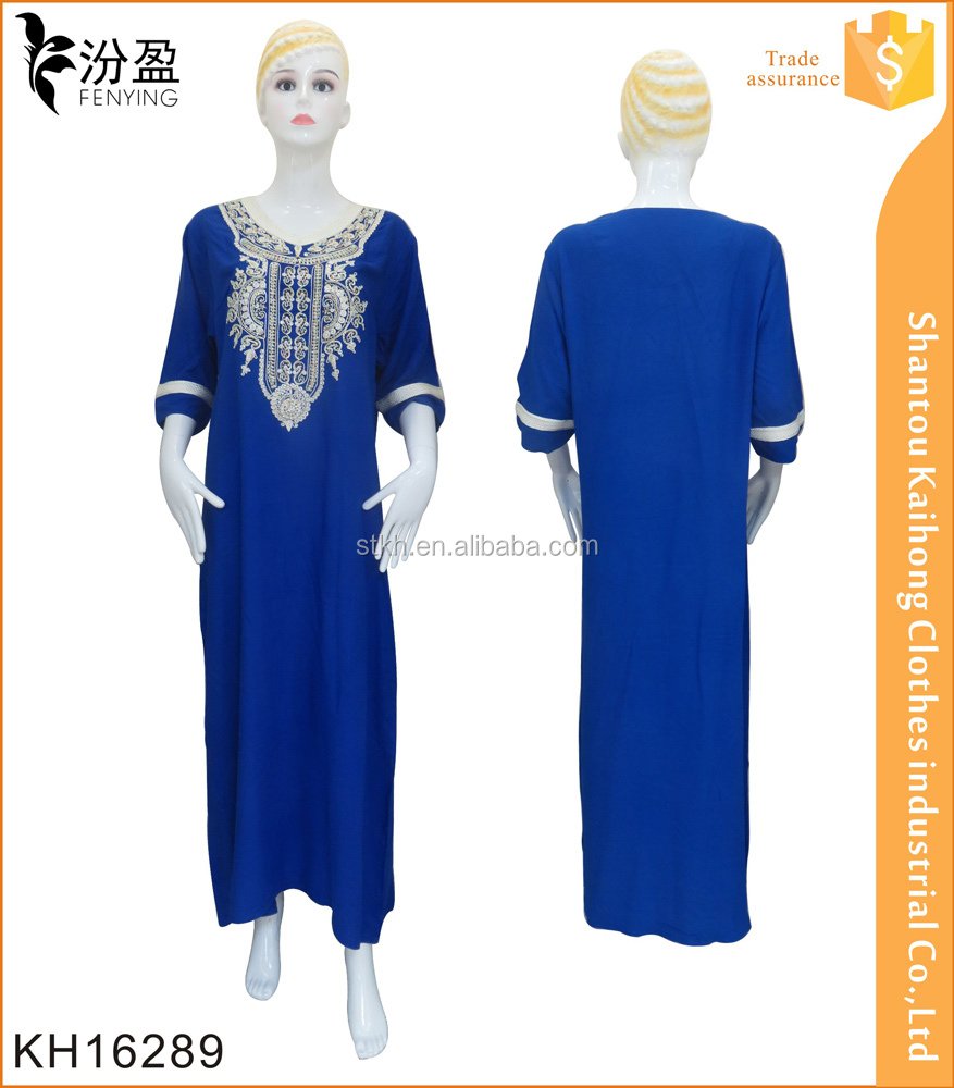 130g 100% rayon New Design Modest Muslim Clothing Islamic Clothing abaya models dubai