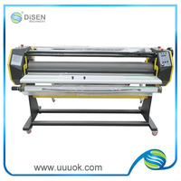 High precision hot and cold cardboard laminator