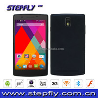 5.5 inch capacitive touch screen MTK6582 Quad core Android 4.4 WIFI Bluetooth 3G Mobile Phone