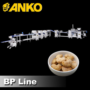 Anko small scale extrusion mixing making puff pastry food machine