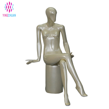 Sexy lifelike used sitting female mannequin for cheap sale