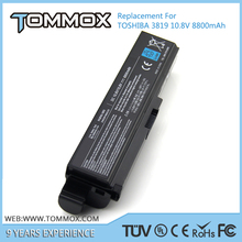 Tommox price laptop external battery for toshiba tecra from shenzhen factory