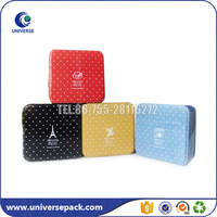 Luxury good quality business card tin box made in China