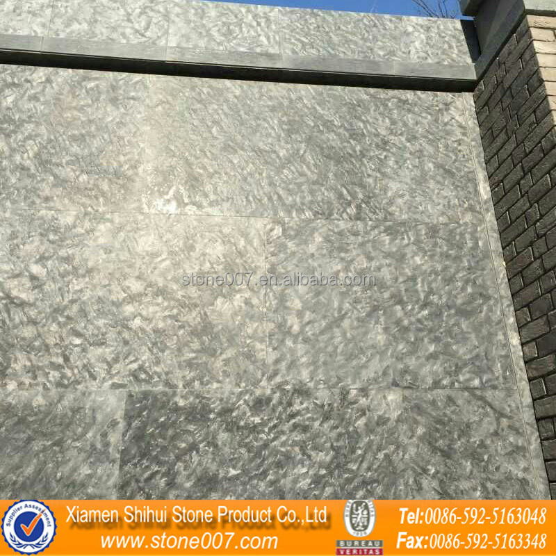 Goose Leather Granite Black Shining Hard Granite 3D