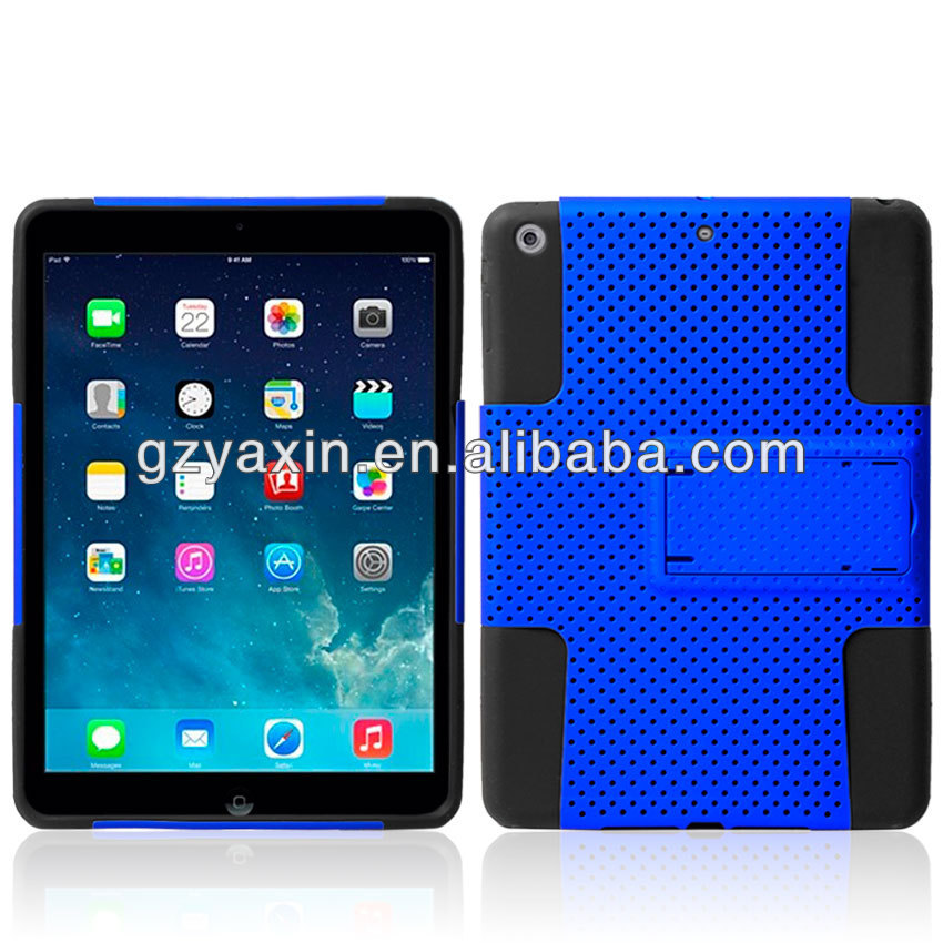 Sublimation Silicon Case For ipad Air,Kickstand Case For Ipad Air