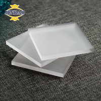 JINBAO acrylic material frosted acrylic board 122*244cm high quality clear acrylic frosted sheet for construction