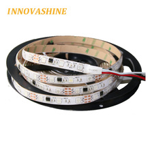 Flexible ip20 ip65 ip67 Magic dream color ic pixel digital linear tape light ws2811 ic smd 5050 addressable rgb led strip 12v